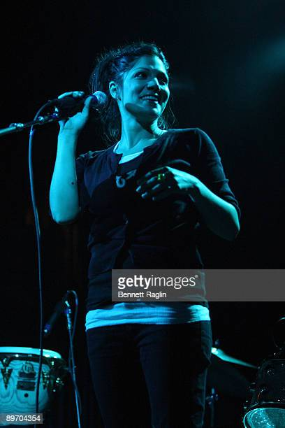Aimee Allen performs at The Fillmore at Irving Plaza on August 7 2009 in New York City