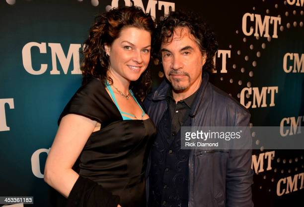 Aimee and John Oates attend CMT Artists Of The Year 2013 at Music City Center on December 3 2013 in Nashville Tennessee