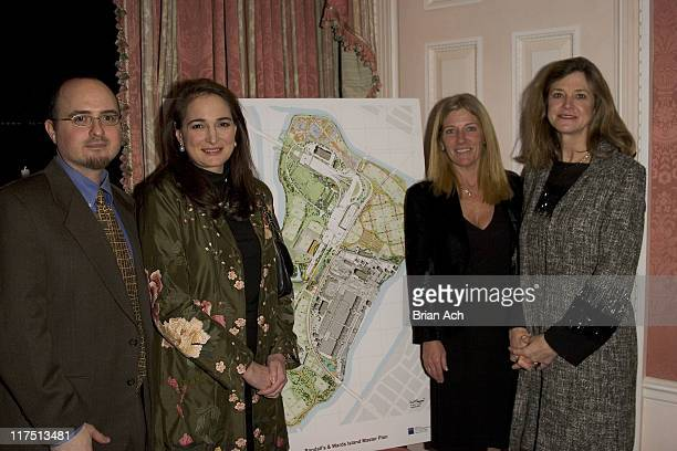 Aimee Boden and guests during Carl and Gail Icahn Host a KickOff Cocktail Party at IcahnOs Home in New York City New York United States