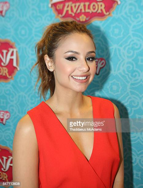 Aimee Carrero attends Disney's 'Elena of Avalor' Miami Screening at Regal South Beach on July 13 2016 in Miami Florida