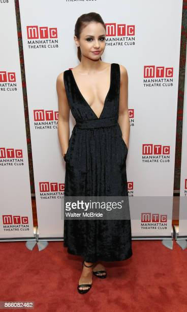 Aimee Carrero attends the Manhattan Theatre Club's Opening Night Party for 'The Portuguese Kid' on October 24 2017 at Brasserie 81/2 in New York City