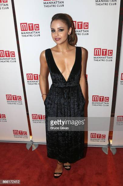Aimee Carrero poses at 'The Portuguese Kid' Opening Night After Party at Brasserie 8 1/2 on October 24 2017 in New York City
