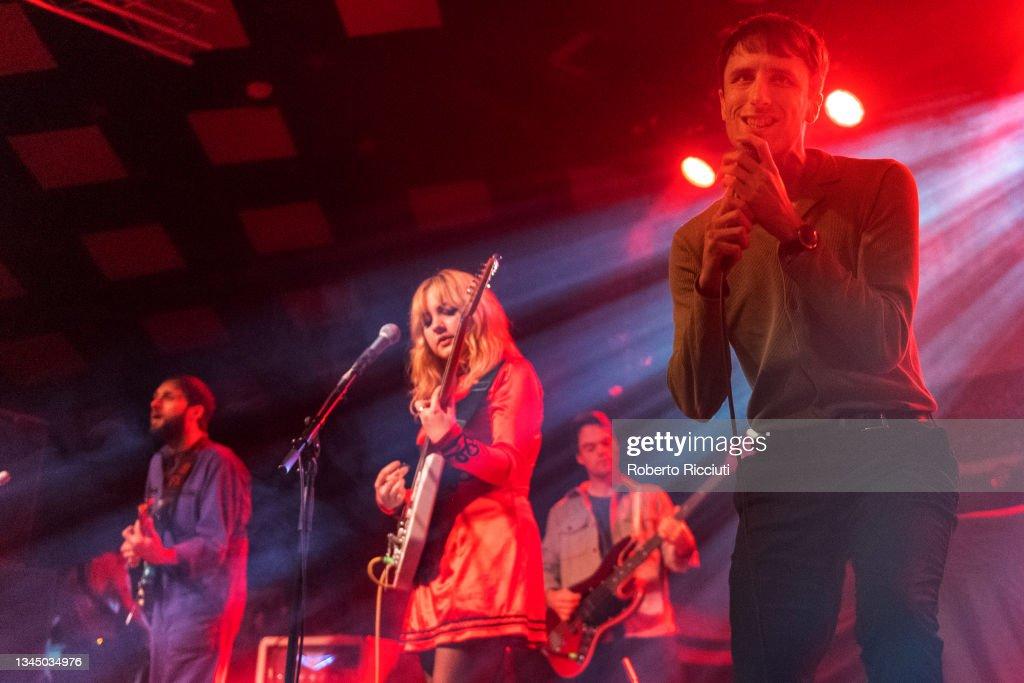 Manic Street Preachers Perform At Barrowland Ballroom, Glasgow : News Photo