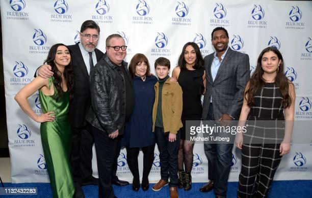 Aimee Garcia Alfred Molina Sean Hanish Judy Wood Gabriel Bateman Samira Izadi Mykelti Williamson and Roxy Hanish attend the premiere of Forefront...