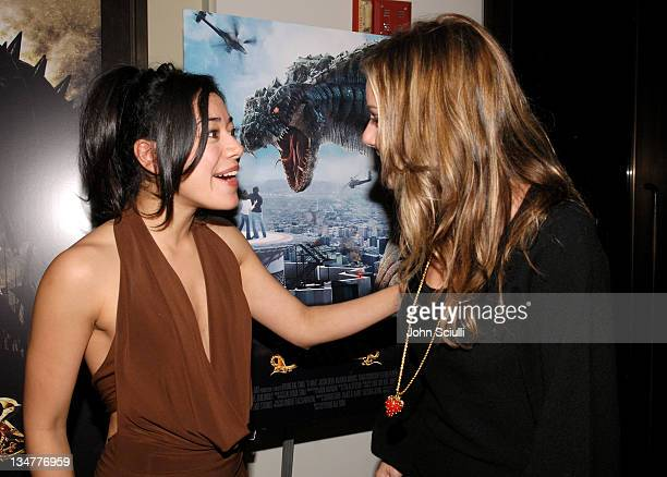 Aimee Garcia and Amanda Brooks during Younggu and Showbox Art Presents Special Screening of 'DWars' at Paramount Theatre in West Hollywood California...