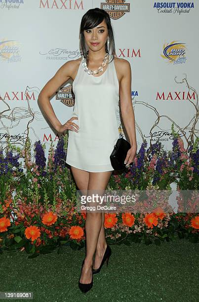 Aimee Garcia arrives at the 11th Annual Maxim Hot 100 Party at Paramount Studios on May 19 2010 in Los Angeles California