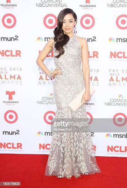 Aimee Garcia arrives at the 2013 NCLR ALMA Awards held at Pasadena Civic Auditorium on September 27 2013 in Pasadena California