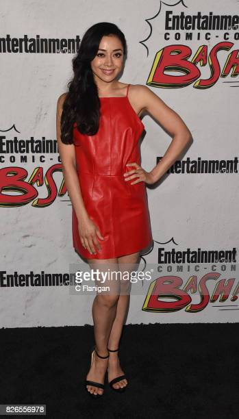 Aimee Garcia attends Entertainment Weekly's annual ComicCon party in celebration of ComicCon 2017 at Float at Hard Rock Hotel San Diego on July 22...