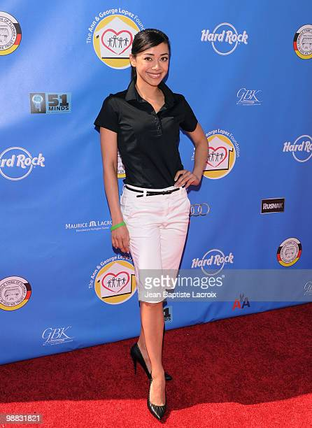 Aimee Garcia attends the 3rd Annual George Lopez Golf Classic at Lakeside Golf Club on May 3, 2010 in Toluca Lake, California.