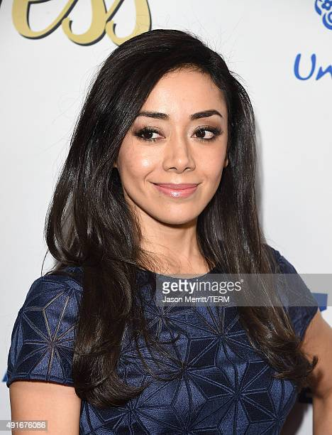 Aimee Garcia attends the Latina 'Hot List' Party hosted by Latina Media Ventures at The London West Hollywood on October 6 2015 in West Hollywood...