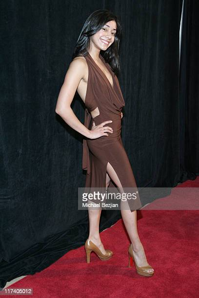 Aimee Garcia during 21st Annual IMAGEN Awards Arrivals at The Beverly Hilton in Beverly Hills California United States