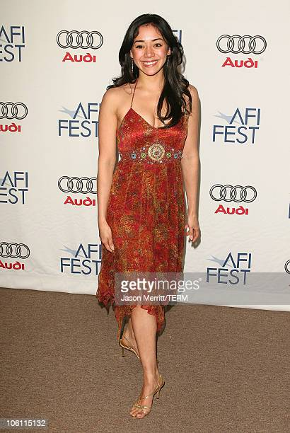"""Aimee Garcia during AFI Film Festival - """"Lies & Alibis"""" Premiere - Arrivals at Arclight in Hollywood, California, United States."""