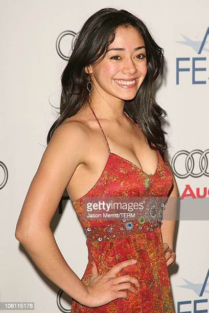 Aimee Garcia during AFI Film Festival 'Lies Alibis' Premiere Arrivals at Arclight in Hollywood California United States
