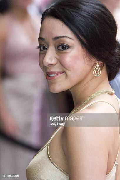 Aimee Garcia during Indianapolis 500 Snakepit Ball - Arrivals at Downtown Indianapolis in Indianapolis, Indiana, United States.