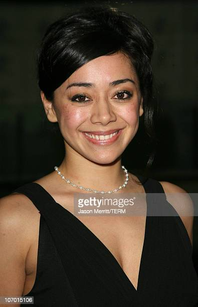 """Aimee Garcia during The 2006 Oscar De La Hoya Foundation """"Evening of Champions"""" - Arrivals at Beverly Hilton Hotel in Beverly Hills, California,..."""