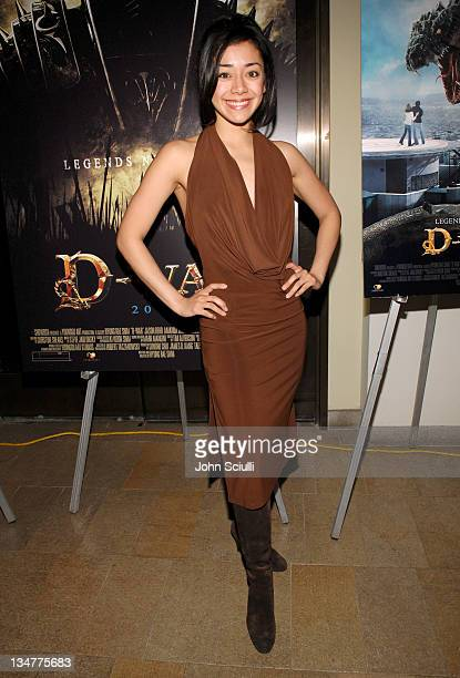 """Aimee Garcia during Younggu and Showbox Art Presents Special Screening of """"D-Wars"""" at Paramount Theatre in West Hollywood, California, United States."""