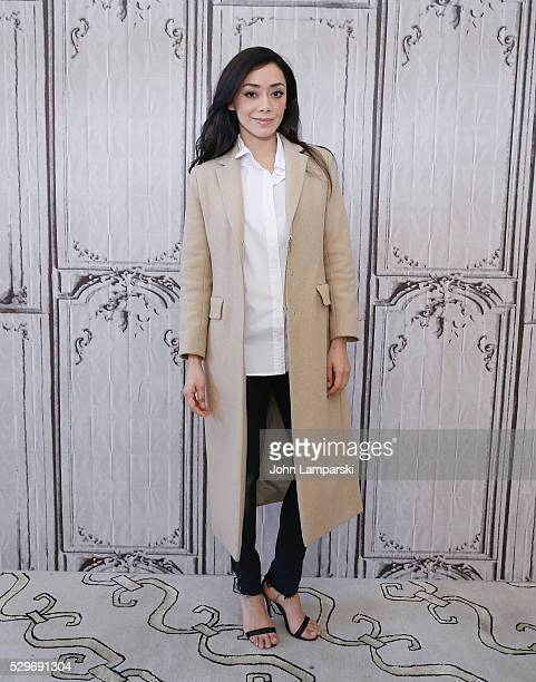 Aimee Garcia of 'Rush Hour' attends AOL Build Speaker Series at AOL Studios on May 09 2016 in New York New York
