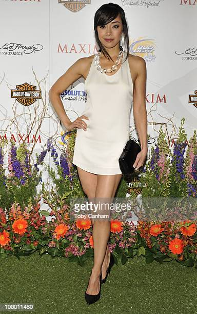 Aimee Garcia poses for a picture at the 11th Annual Maxim Hot 100 Party on May 19 2010 in Los Angeles California