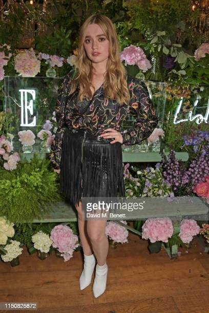 Aimee Lou Wood celebrates The ELLE List in association with MAGNUM ice cream on June 19 2019 in London England