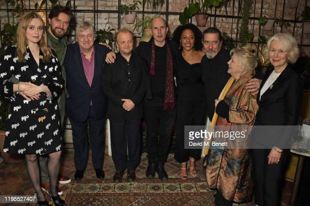 Aimee Lou Wood Richard Armitage Peter Wight Toby Jones Ian Rickson Rosalind Eleazar Ciaran Hinds Anna CalderMarshall and Dearbhla Molloy attend the...