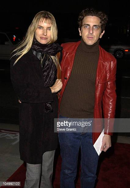 Aimee Mann and Michael Penn during 'I Am Sam' Premiere at The Academy in Beverly Hills California United States