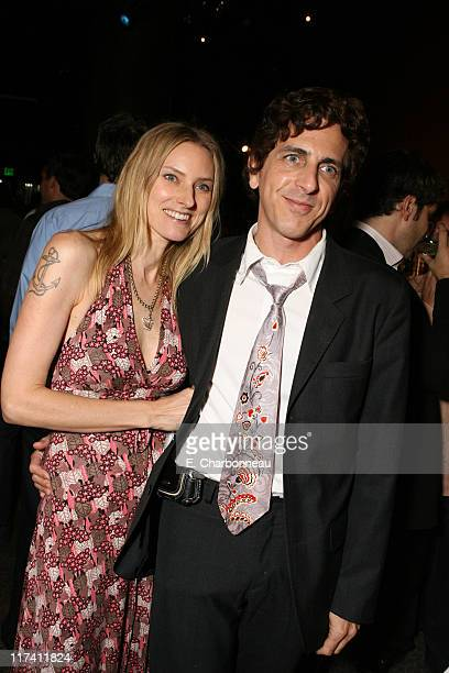 Aimee Mann and Michael Penn during Los Angeles Premiere of DreamWorks 'The Last Kiss' at Director's Guild of America in Los Angeles CA United States