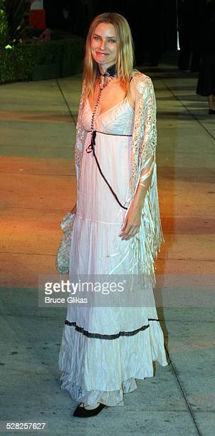 Aimee Mann during 2006 Vanity Fair Oscar Party at Morton's in West Hollywood California United States