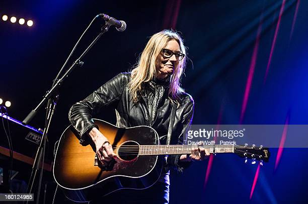 Aimee Mann performs at Le Bataclan on January 26 2013 in Paris France