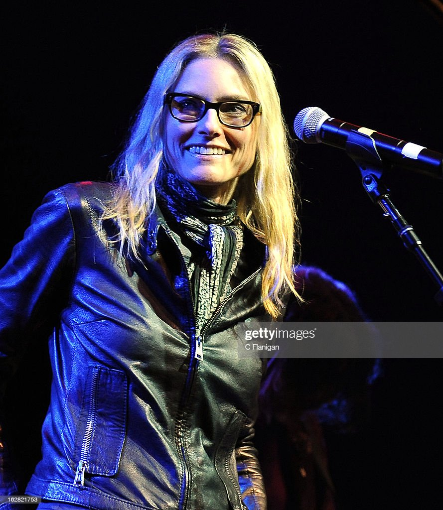 Aimee Mann performs during the San Francisco PETTY FEST at The Fillmore on February 27, 2013 in San Francisco, California.