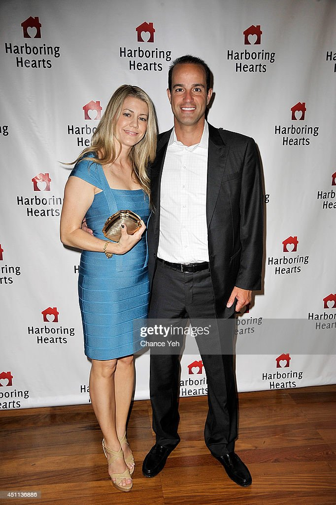 Aimee Melkonian and Ryan Melkonian attend Harboring Hearts' 2nd annual Summer Soiree at Rubin Museum of Art on June 23, 2014 in New York City.
