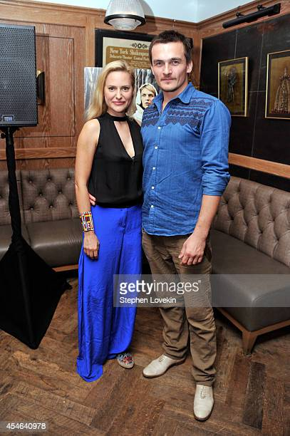 Aimee Mullins and Rupert Friend attend a Private Reception And Screening Of Homeland Season 4 on September 4 2014 in New York City