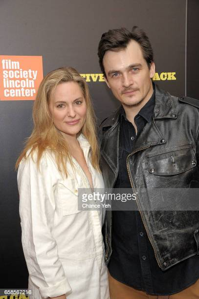 Aimee Mullins and Rupert Friend attends 'Five Came Back' world premiere at Alice Tully Hall at Lincoln Center on March 27 2017 in New York City