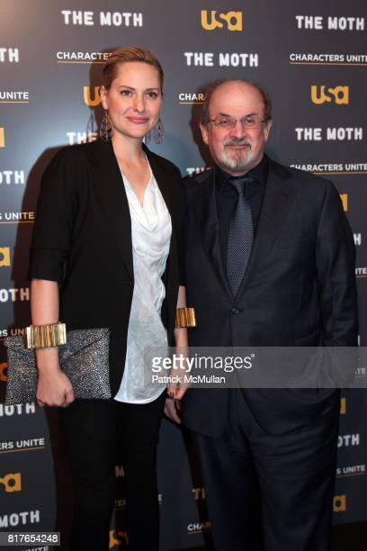 """Aimee Mullins and Salman Rushdie attend USA Network and The Moth's Storytelling Event A More Perfect Union Stories of Prejudice and Power"""" at the New..."""