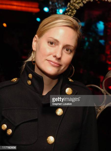 Aimee Mullins at the 4 Stroke Denim launch during Launch of 4 Stroke with Theodora Richards at Pink Elephant in New York City New York United States