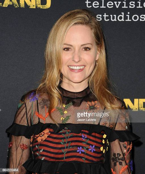 Aimee Mullins attends the ATAS Emmy screening of Showtime's 'Homeland' at NeueHouse Hollywood on April 3 2017 in Los Angeles California