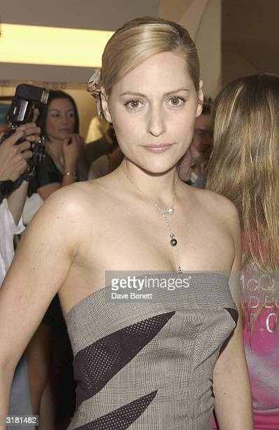 f0c3d8af72377 Aimee Mullins attends the Launch Party For Alexander McQueen's New Store at  Old Bond Street on