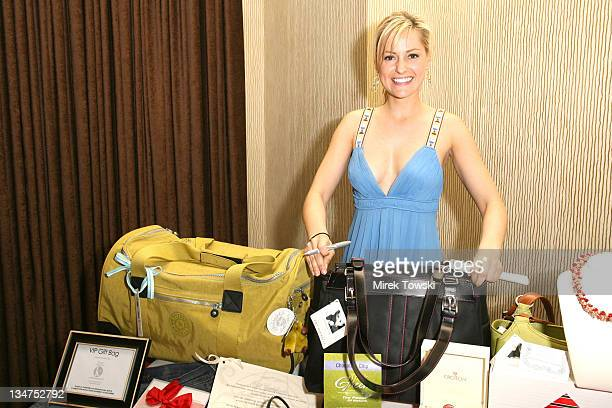 Aimee Mullins during 1st Annual The Billies Awards honoring women in sports featuring gift bags by Klein Creative Communications at Beverly Hilton...
