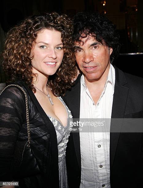 Aimee Oates and her husband pop musician/producer John Oates arrives at Lucky Brand's 12th Annual Black Tie Blue Jeans Gala at The Beverly Wilshire...