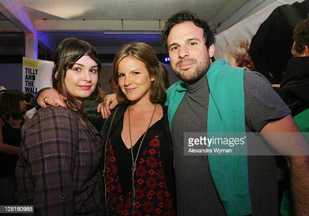 Aimee Osbourne, Brigette Sumner and Tom Gormican at Nylon Magazine and MySpace's 3rd Annual Music Issue Party held on June 4, 2008 in Los Angeles,...
