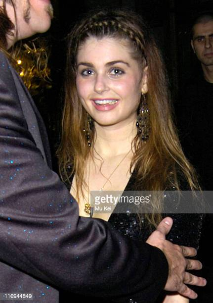 Aimee Osbourne during Celebrity Sightings Outside Kelly Osbourne's Birthday Party at the Sketch Club in London October 27 2005 at Sketch Club in...