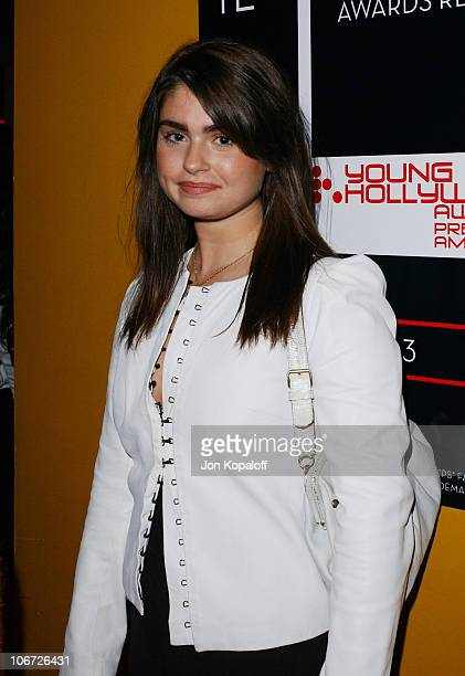 Aimee Osbourne during Playstation 2 Hosts the Movieline Young Hollywood Awards AfterParty in Los Angeles California United States