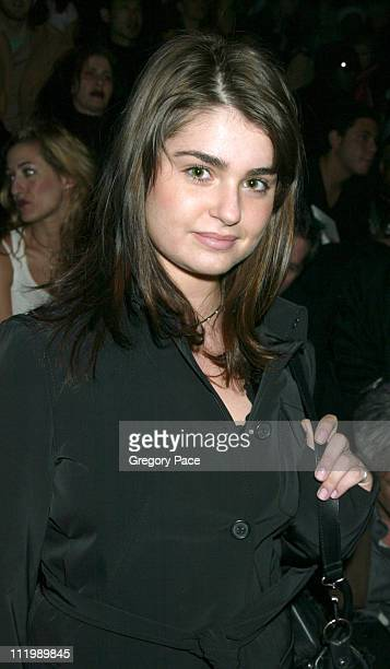 Aimee Osbourne during Sean John Fall 2003 Fashion Show at Ciprianis in New York NY United States