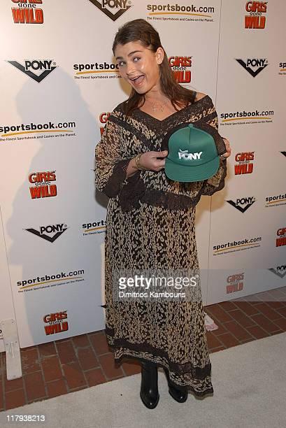 Aimee Osbourne during Super Bowl XXXVII - PONY, Girls Gone Wild and sportsbook.com Super Bowl Celebration - Arrivals at 526 Market Place in San...
