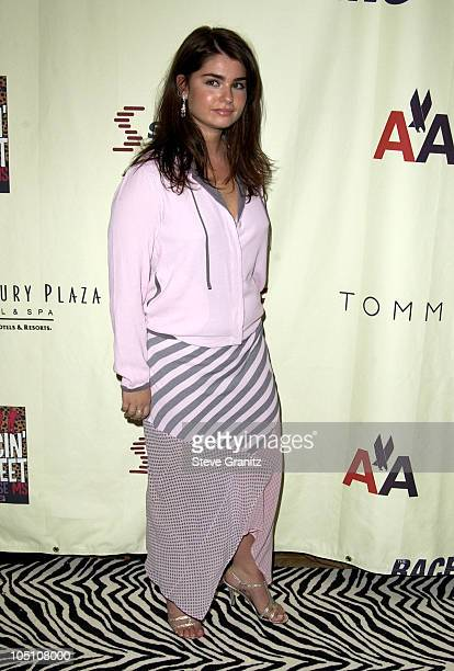 Aimee Osbourne during The 10th Annual Race to Erase MS Arrivals at Century Plaza Hotel in Century City California United States