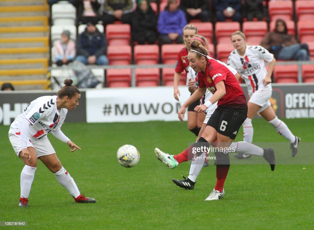 Manchester United Women v Charlton Athletic Women: FA Women's Championship : News Photo