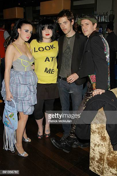 Aimee Phillips Kelly Osbourne SPencer Product and Jake Shears attend Paper Magazine hosts private dinner for cover girl Kelly Osbourne at English IS...