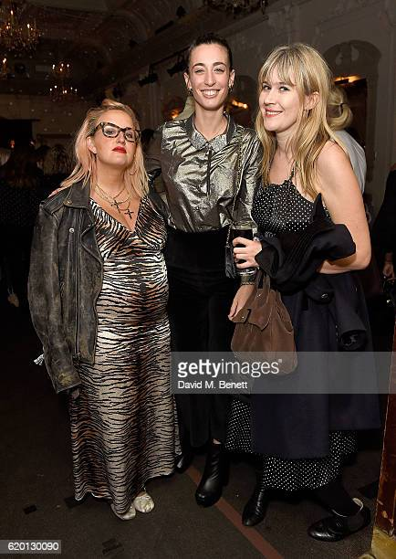 Aimee Phillips Laura Jackson and Tennessee Thomas attend as Marks and Spencer and Alexa Chung celebrate 'The Winter Archive by Alexa Collection' with...