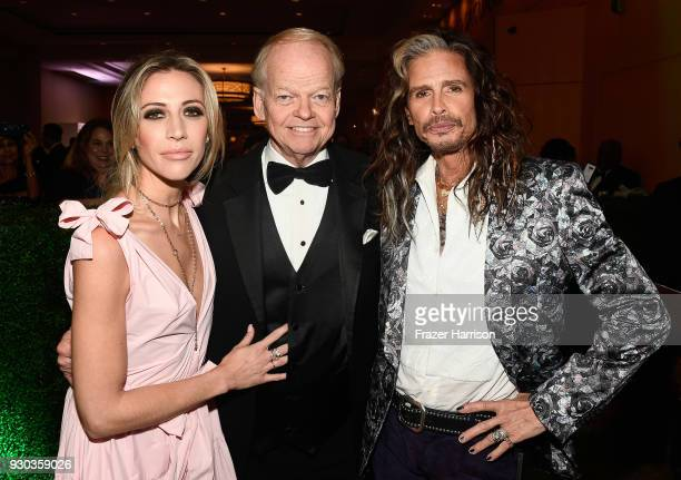 Aimee Preston Celebrity Fight Night Chairman and Founder Jimmy Walker and Steven Tyler attend Celebrity Fight Night XXIV on March 10 2018 in Phoenix...