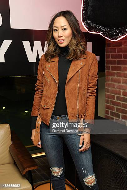 Aimee Song aka songofstyle attends Fashion Honors Featuring Nicola Formichetti With Tumblr at Half Half on February 16 2015 in New York City