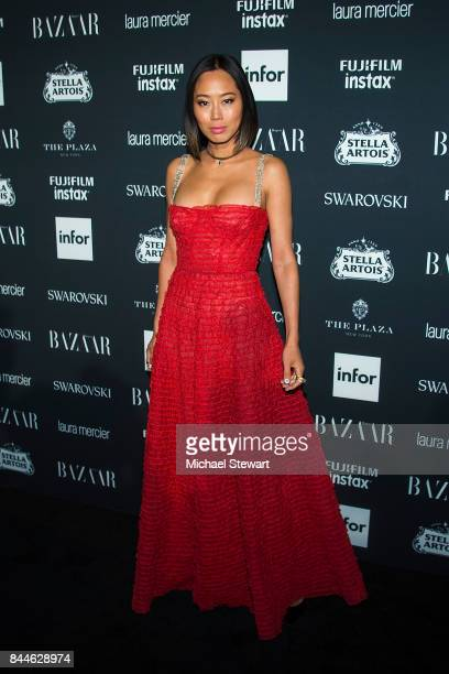 Aimee Song attends 2017 Harper's Bazaar Icons at The Plaza Hotel on September 8 2017 in New York City